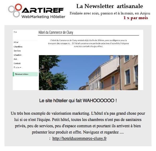 Site Internet d'hôtel et marketing